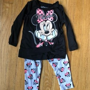Other - Minnie Mouse toddler girl outfit size - 18 months